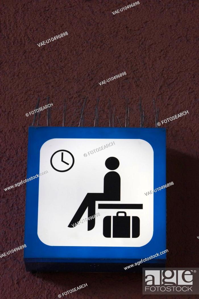Stock Photo: informative, information, sign, signboard, instructive, travel.