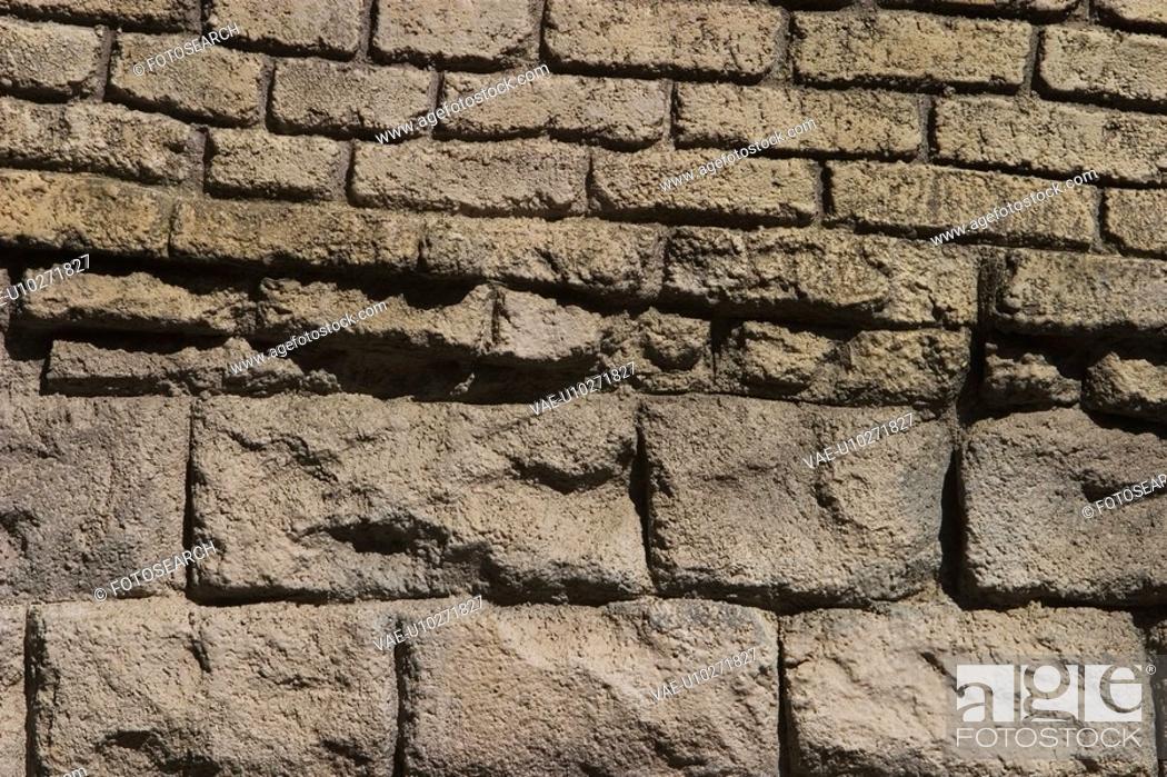Stock Photo: Arrangement, Close-Up, Brick, Array, Architectural.