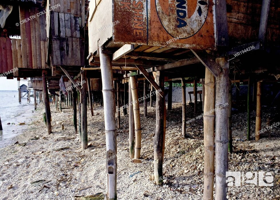 Stock Photo: Residential, Stake, Live, Stilt, Estate, Colony, Pile-Dwelling, Human Settlement, Scheme, Stone Age, Lake Constance, Water, Holiday, Vacation, Pile, Protection, Travel, House, Archaeology, Architecture, Pole, Housing, Post