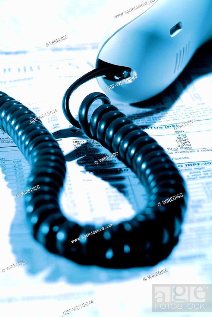 Stock Photo: Businesses Concepts II, telephone, Brazil.