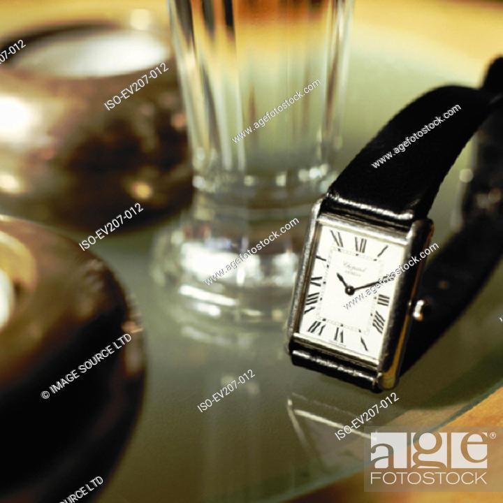 Stock Photo: Antique watch.