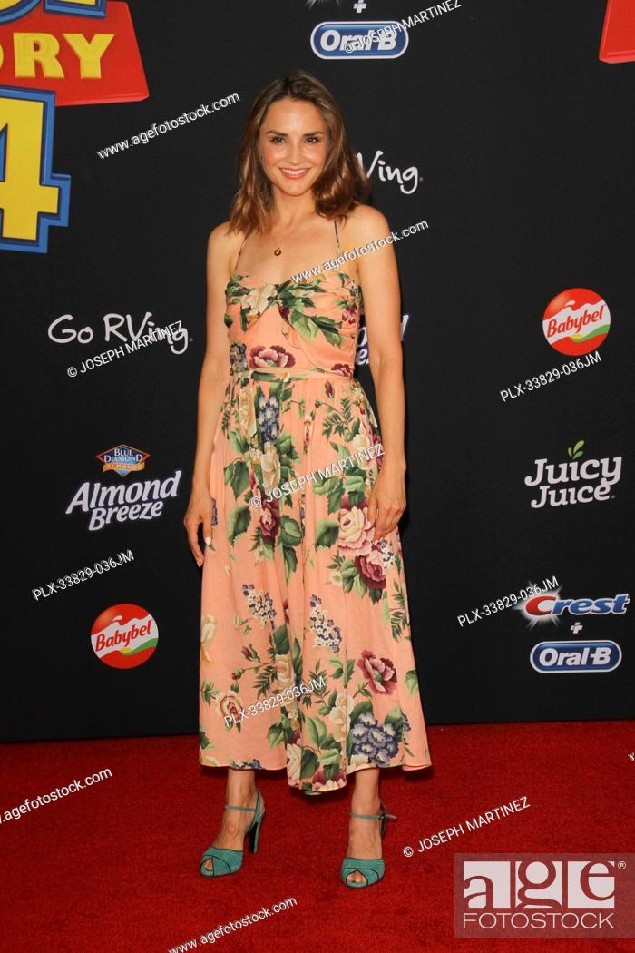 "Stock Photo: Rachael Leigh Cook at Disney/Pixar's """"Toy Story 4"""" World Premiere held at El Capitan Theatre, Hollywood, CA, June 11, 2019."