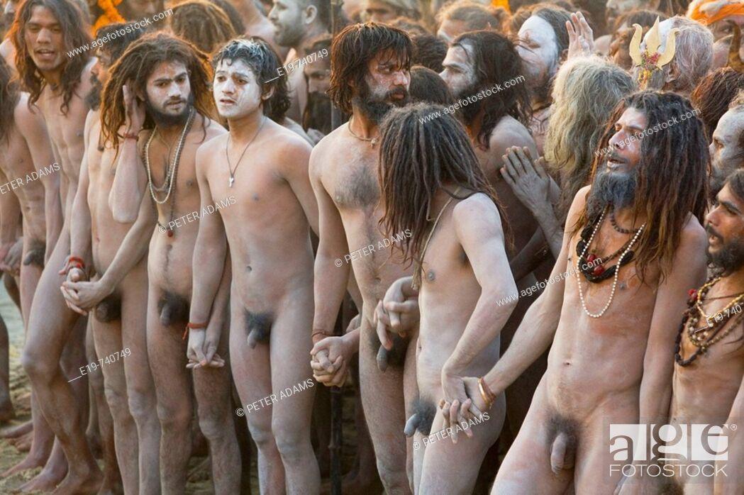 Sadhus Holy Men Penis Extension