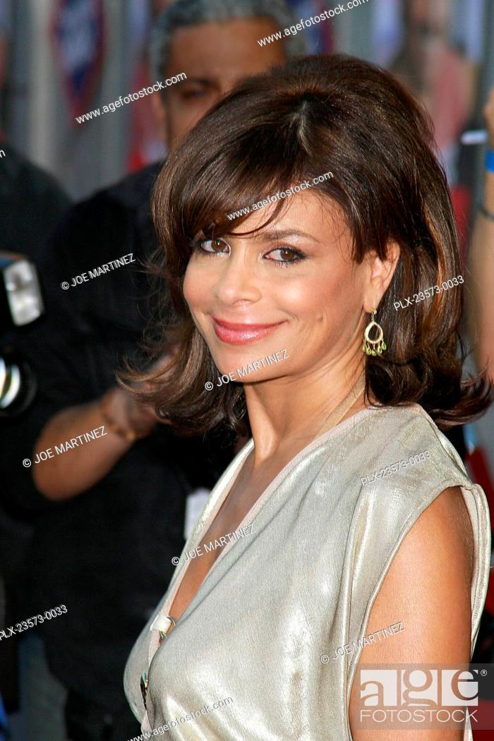 Stock Photo - Swing Vote Premiere Paula Abdul 7-24-2008 / El Capitan  Theatre / Hollywood, CA / Touchstone Pictures / Photo by Joe Martinez  7/24/2008