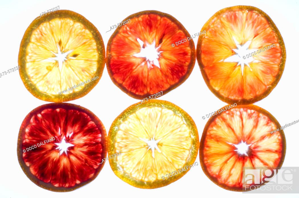 Stock Photo: Oranges.