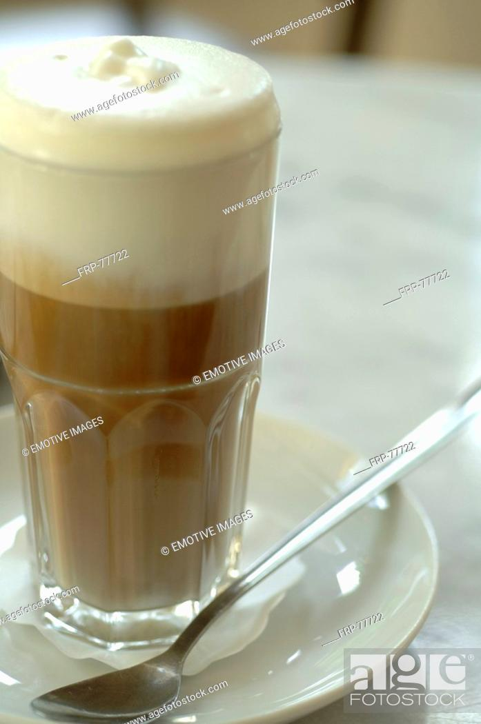 Stock Photo: Latte macciato.