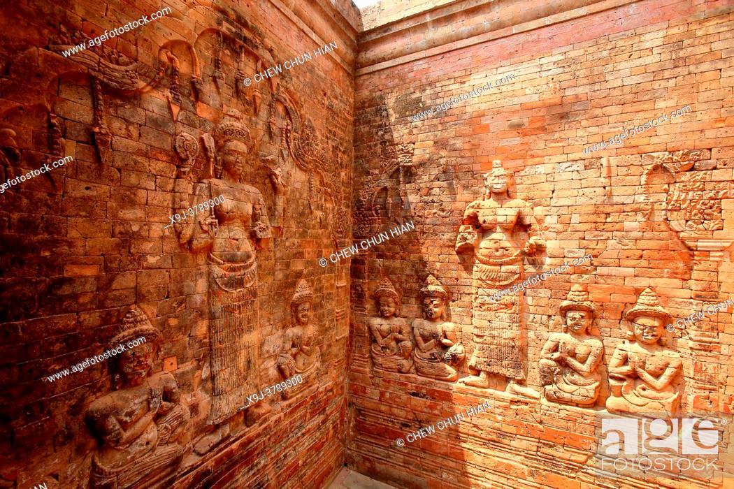Imagen: Angkor Wat temple, Angkor archaelogical park, Siem Reap Province, Cambodia.