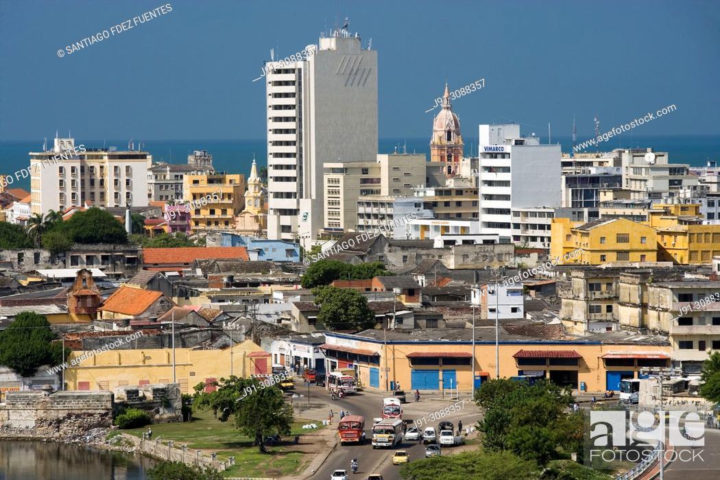 Stock Photo: Cartagena de Indias, Colombia.