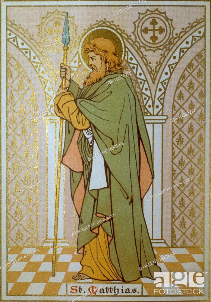 Imagen: Saint Matthias.