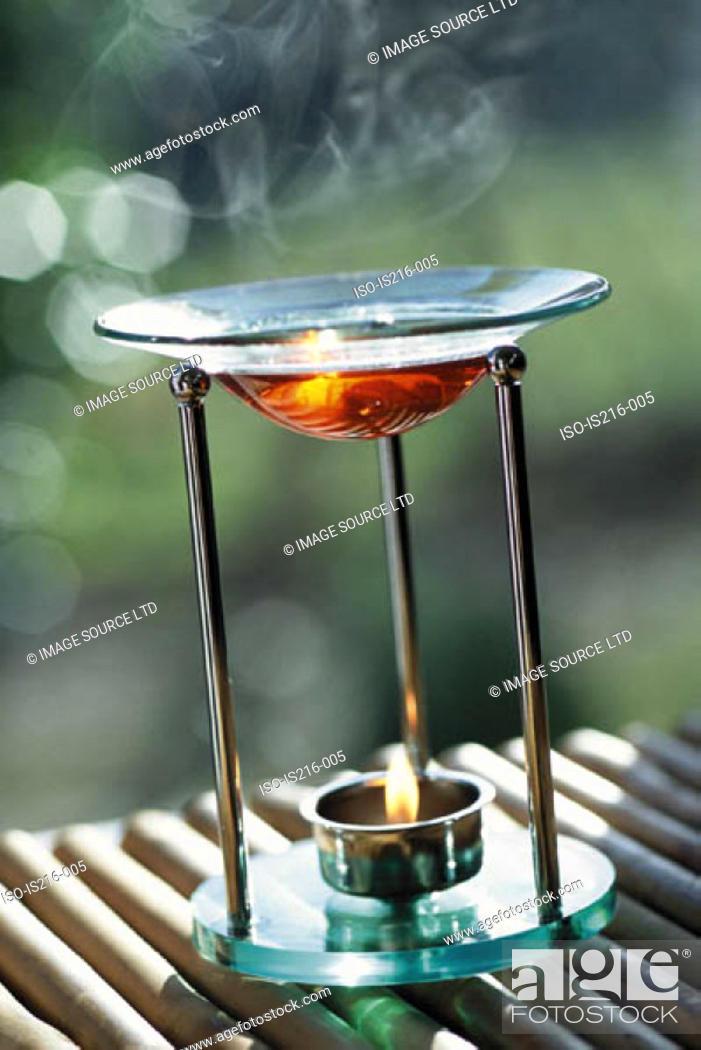 Stock Photo: Incense burner.