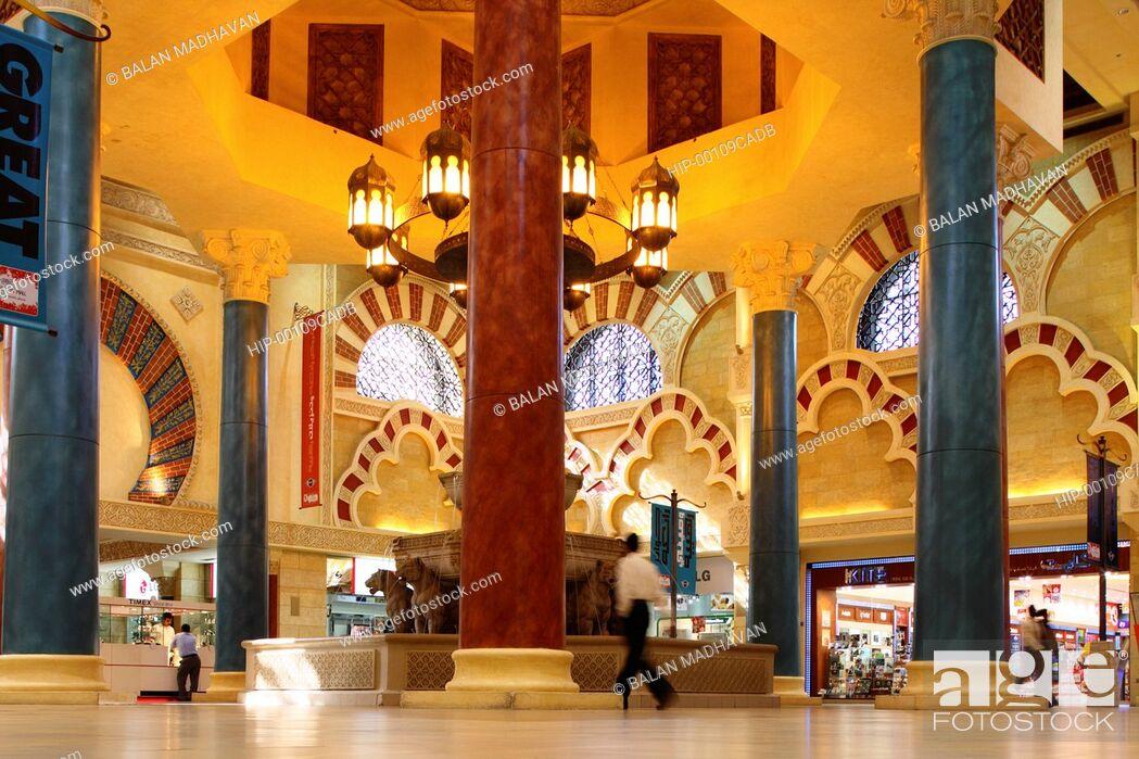 Imagen: IBN BATTUTA MALL IN DUBAI, UAE.