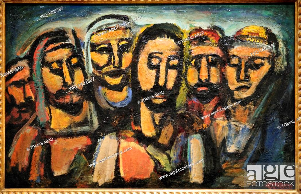 Christ and the Apostles, 1937-38, by Georges Rouault, French, 1871