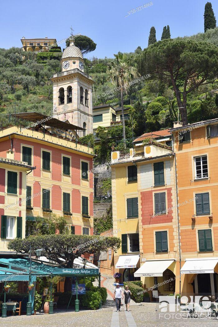 Stock Photo: Italy, Liguria, Portofino.