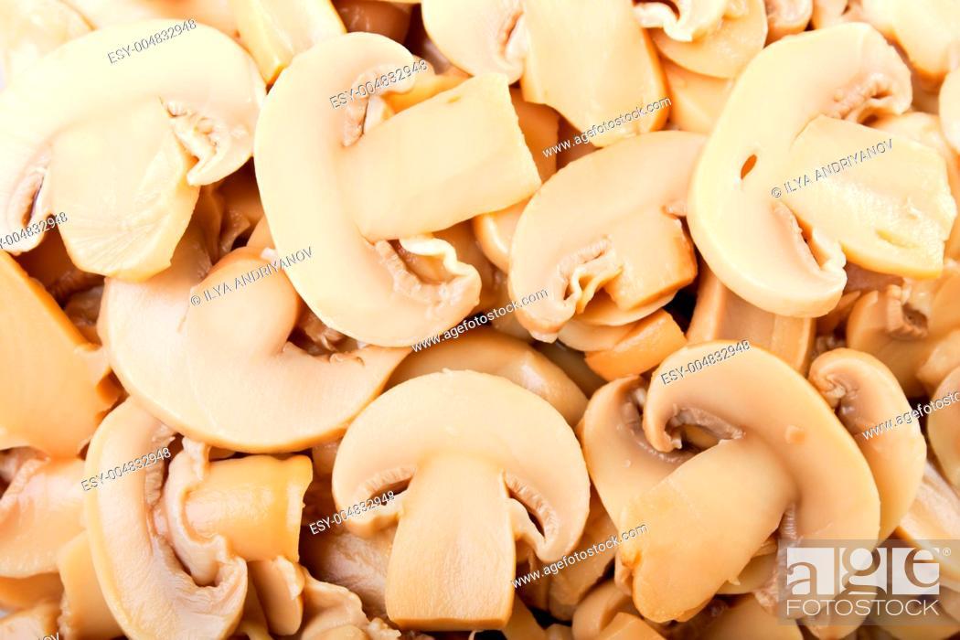 Stock Photo: Mushroom food.