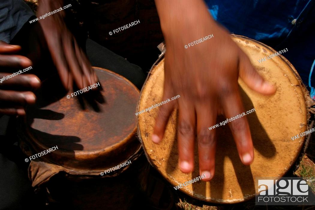 Stock Photo: tribal, musical, musical instruments, instruments, tribal music, beat.