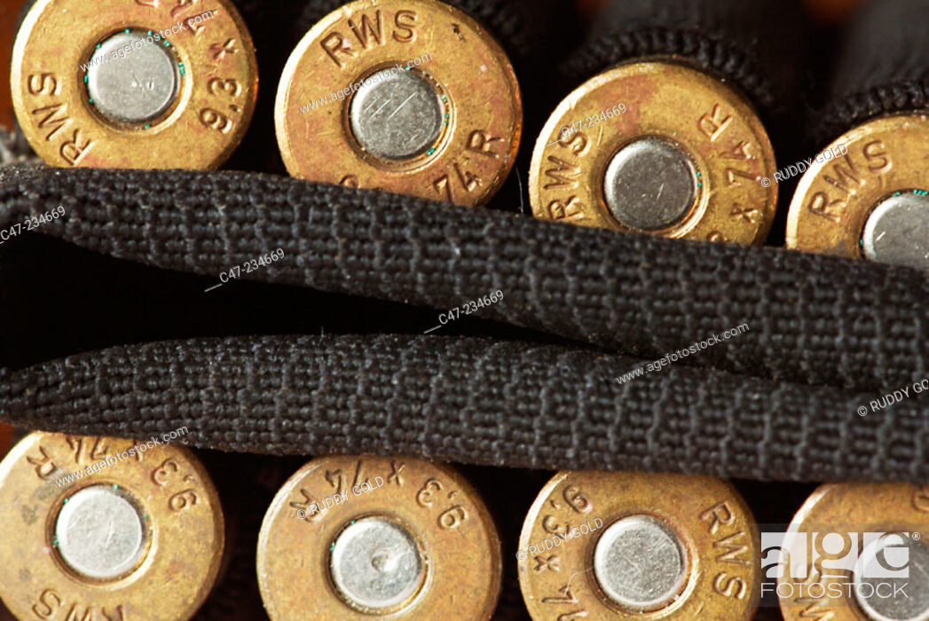 Stock Photo: Bullets.
