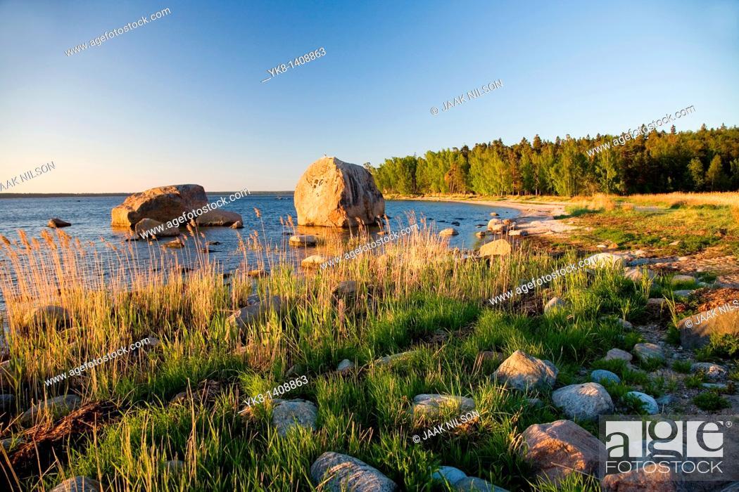Stock Photo: Käsmu, Lahemaa National Park, Estonia, Europe.