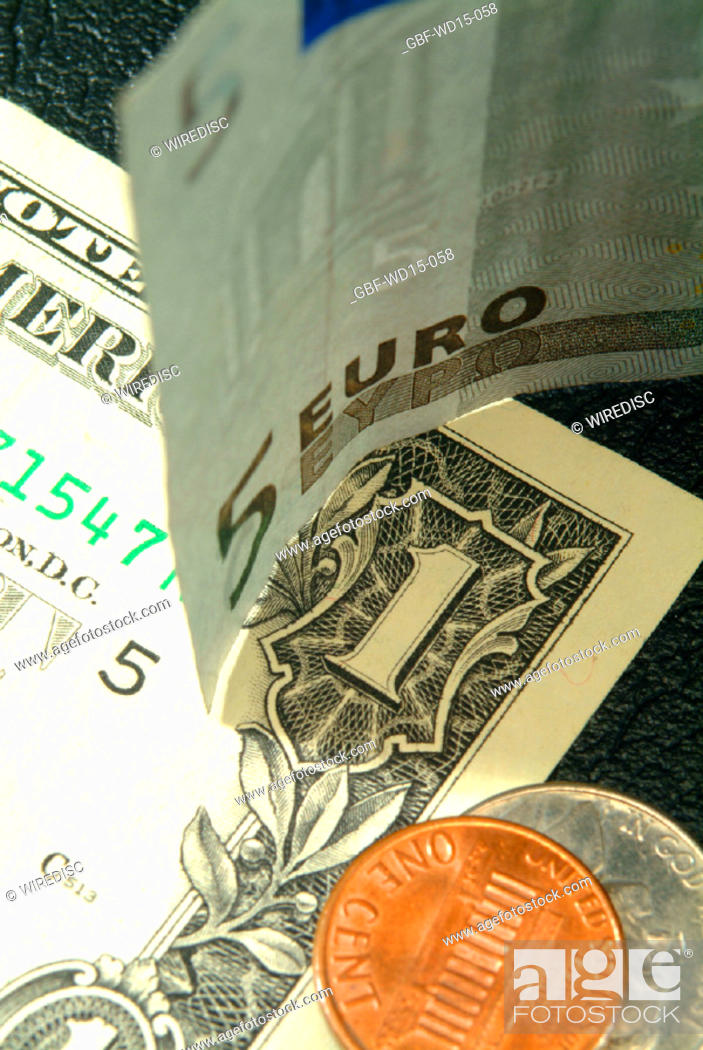 Stock Photo: Businesses Concepts II, dollar, euro, Brazil.