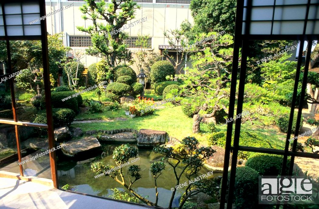 Stock Photo: Japan - The west of Honshu - Hiroshima - Miyajima Island - History and Folklore Museum.