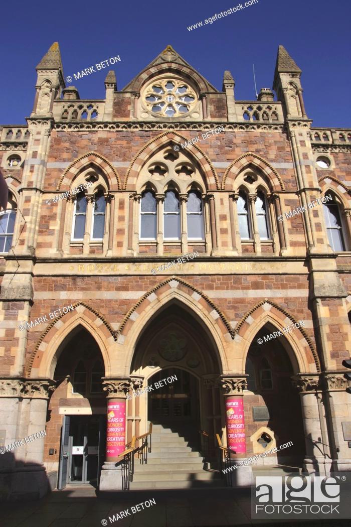 Stock Photo: Royal Albert Memorial Museum Exeter Devon UK.