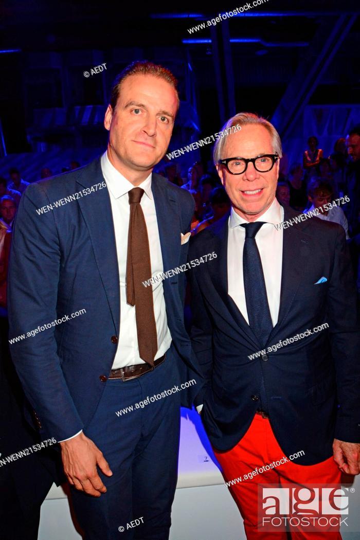 192c9b42 Stock Photo - John Cloppenburg, Tommy Hilfiger at Designer for Tomorrow  fashion show at Erika-Hess-Eisstadion during Mercedes-Benz Fashion Week ...