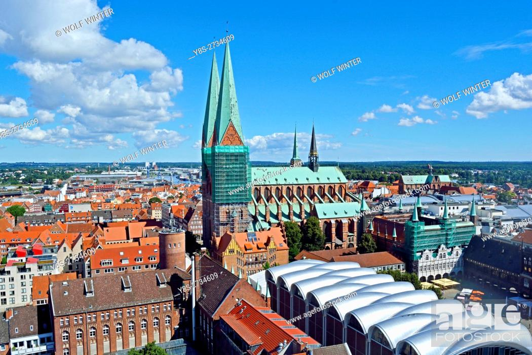 Stock Photo: At the Bay of Luebeck. One of the most popular vacation regions in the north of Germany. . Hanseatic City of Luebeck, Schleswig-Holstein.
