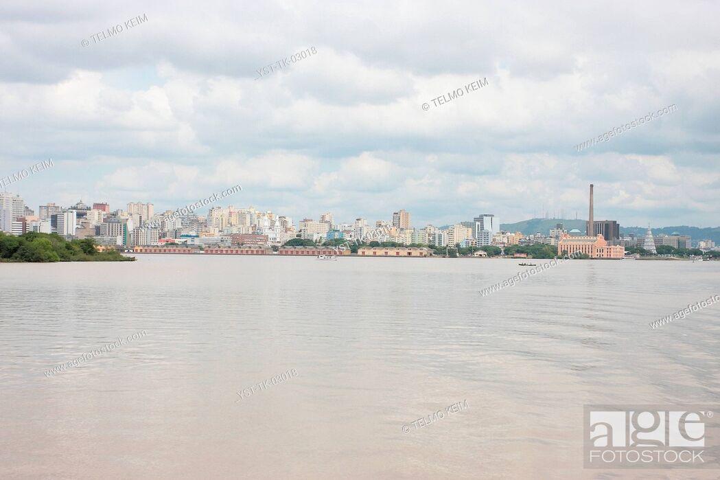 Stock Photo: River, landscape, Brazil.