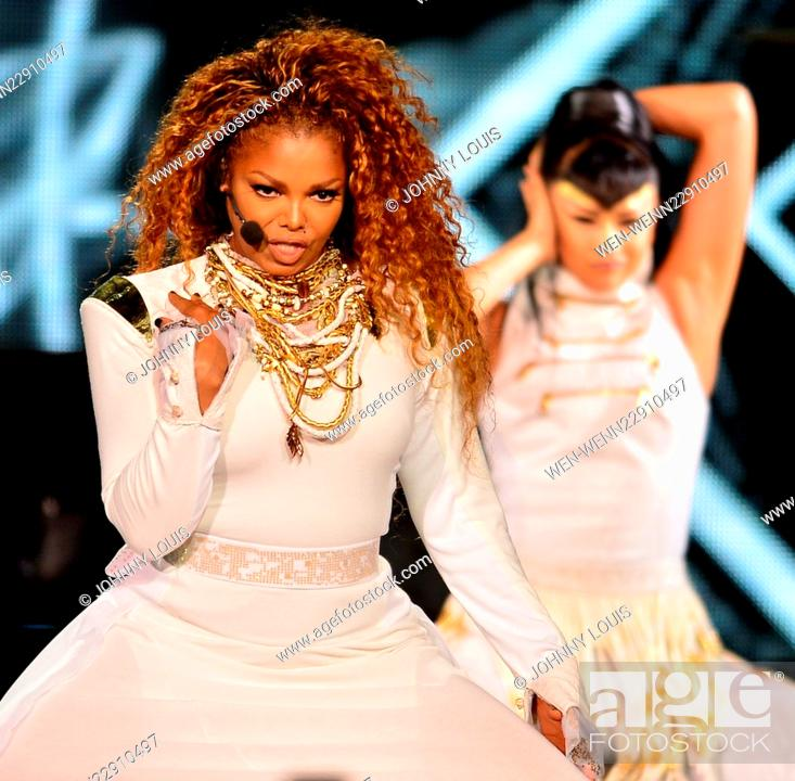 Janet Jackson Performs Live At The