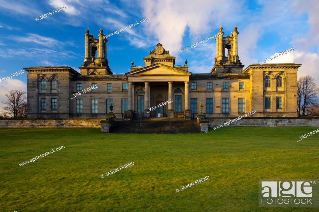 Stock Photo: Scotland, Edinburgh, Dean Gallery. The Dean Gallery part of the National Galleries of Scotland, opened in 1999 although the building was originally an orphanage.