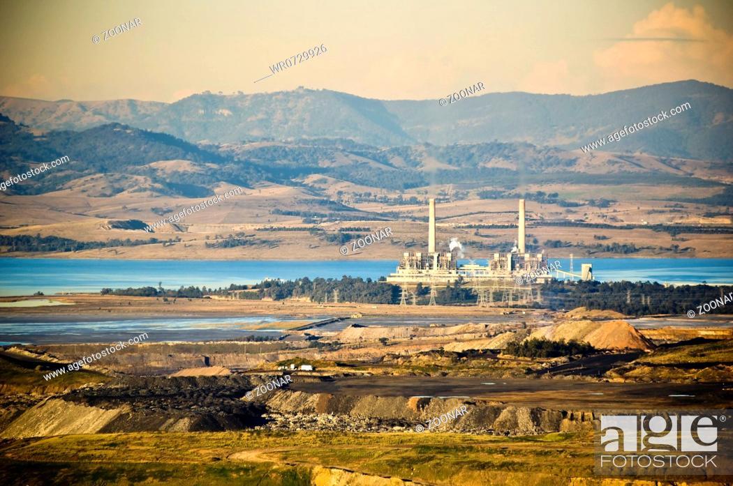 Photo de stock: Power Station.