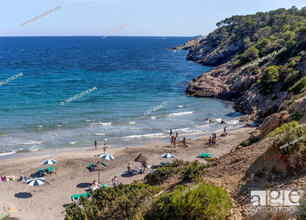Stock Photo: Cala Boix, Ibiza, Balearic Islands, Spain.