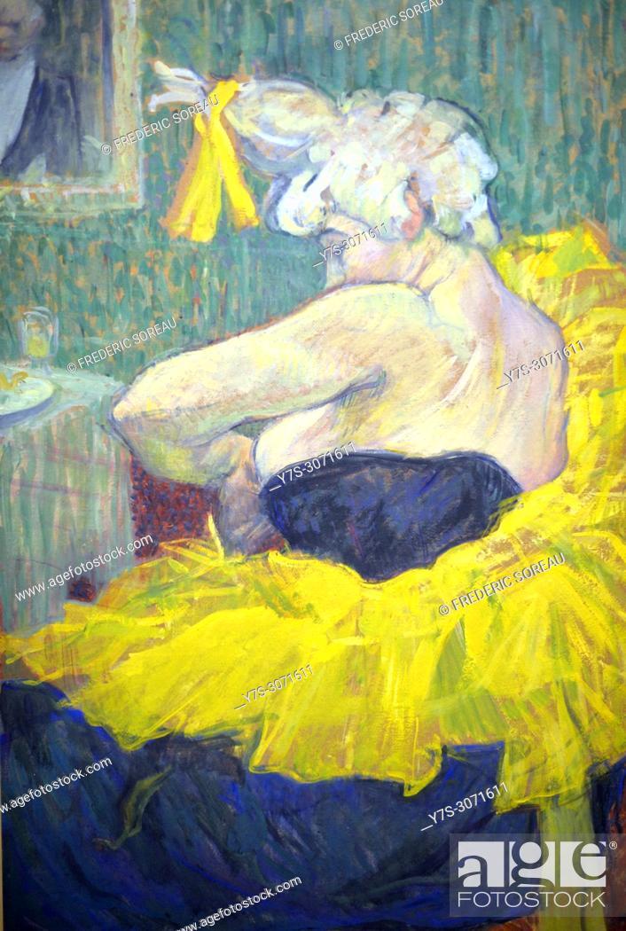 The clown Cha U Kao, Henri de Toulouse-Lautrec, (1864-1901