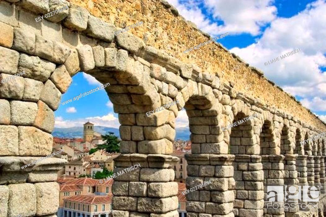 Imagen: Segovia Aquädukt - Segovia Aqueduct 08.