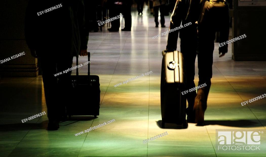 Stock Photo: Verreisen.