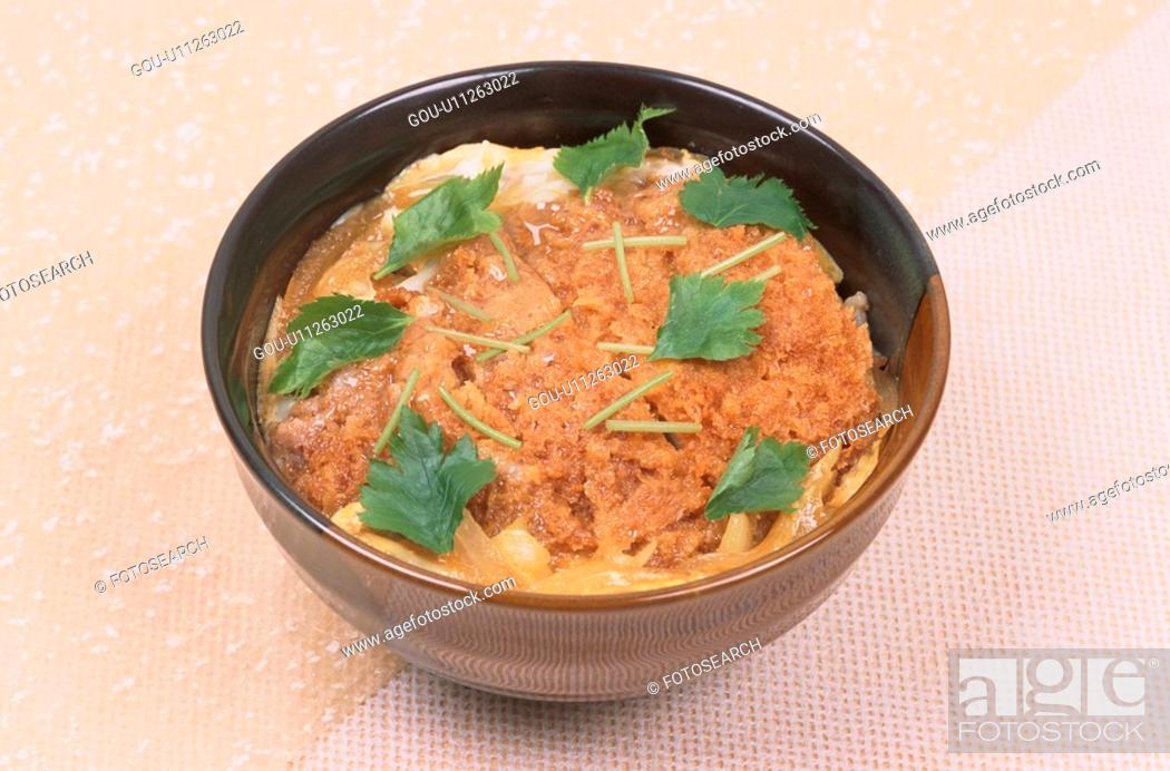 Stock Photo: Japanse Dish With Sauce.