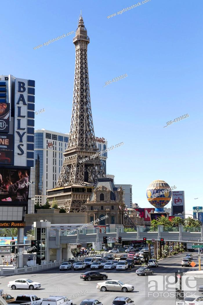Hotel Paris Replicated Eiffel Tower Las Vegas Nevada Usa Stock Photo Picture And Rights Managed Image Pic Ibr 4393026 Agefotostock