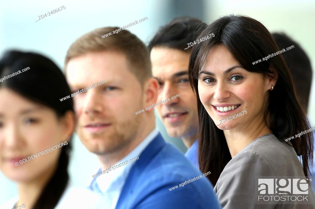 Stock Photo: Business people.
