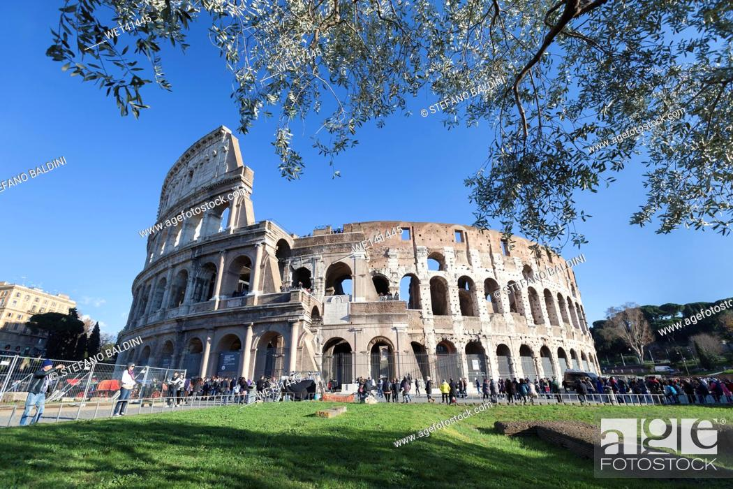 Imagen: Colosseum, Rome, Italy.