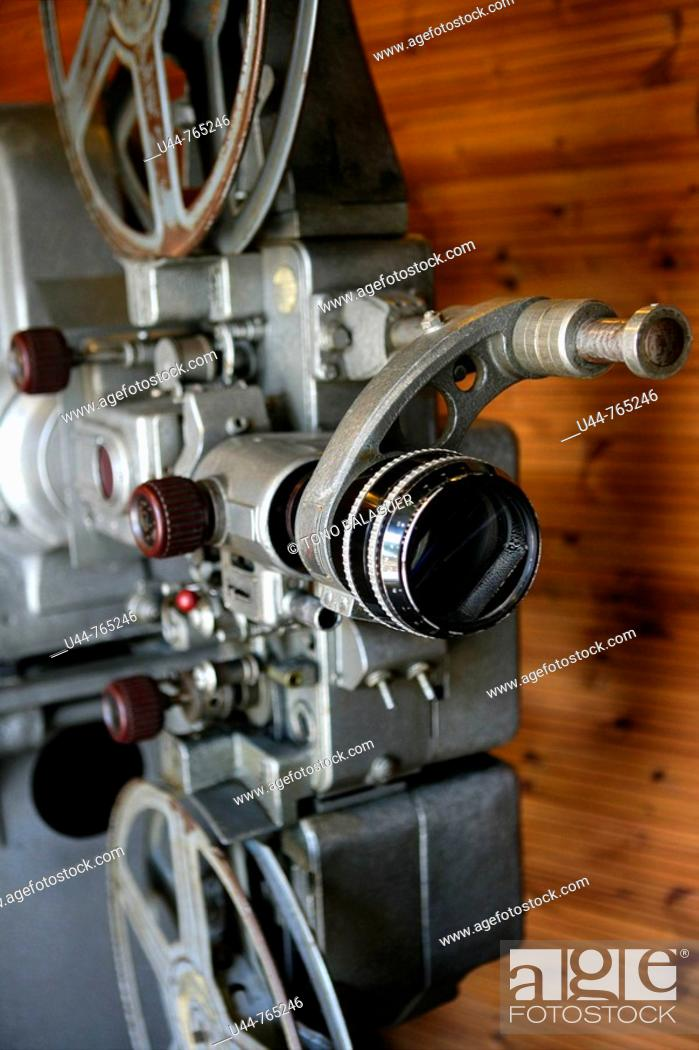 Old Cinema Projector Stock Photo Picture And Rights Managed Image