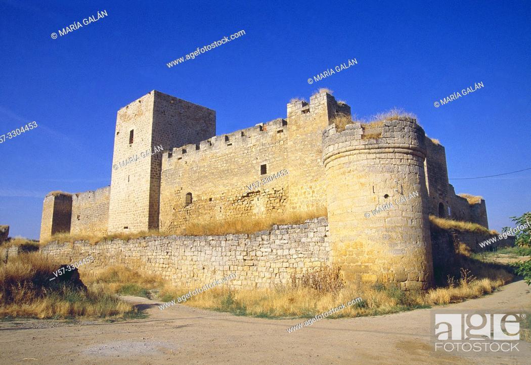 Imagen: Castle. Trigueros del Valle, Valladolid province, Castilla Leon, Spain.