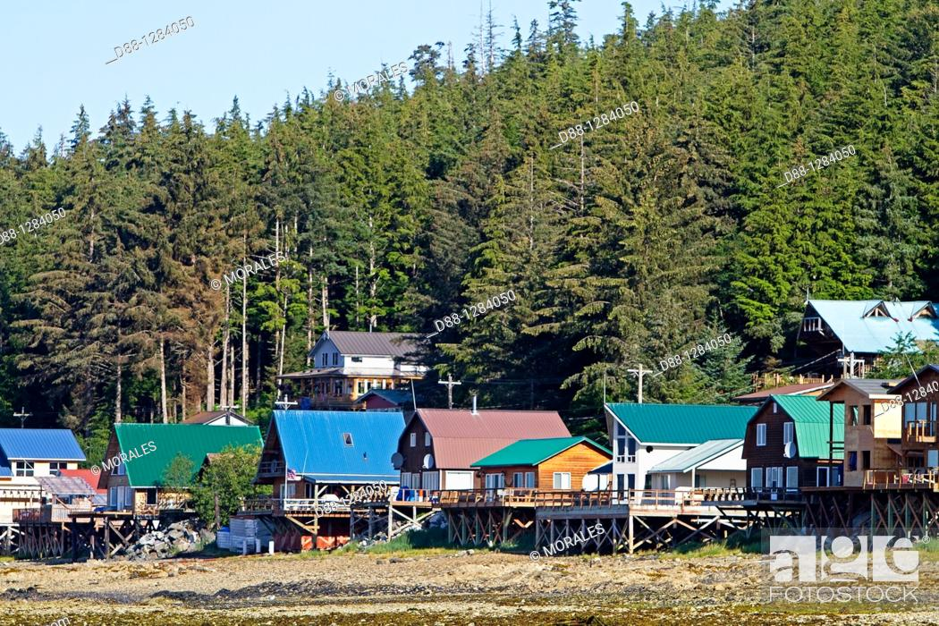 Tenakee Springs Is A City On Chichagof Island South West Alaska At