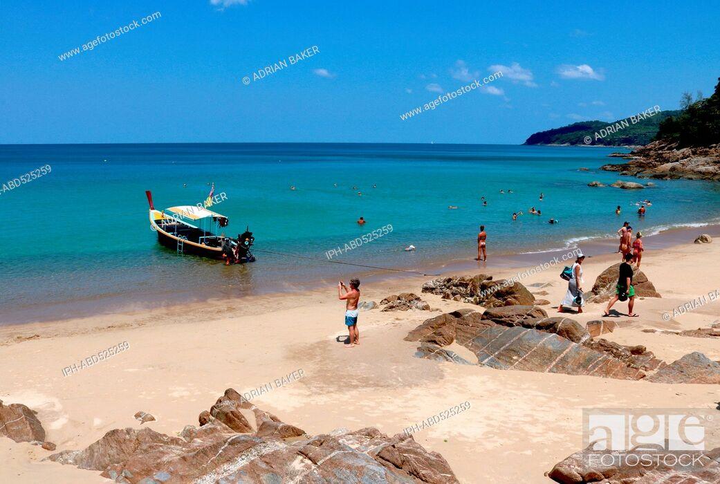 Imagen: Thailand Phuket Naithon Banana Beach near Naithon .