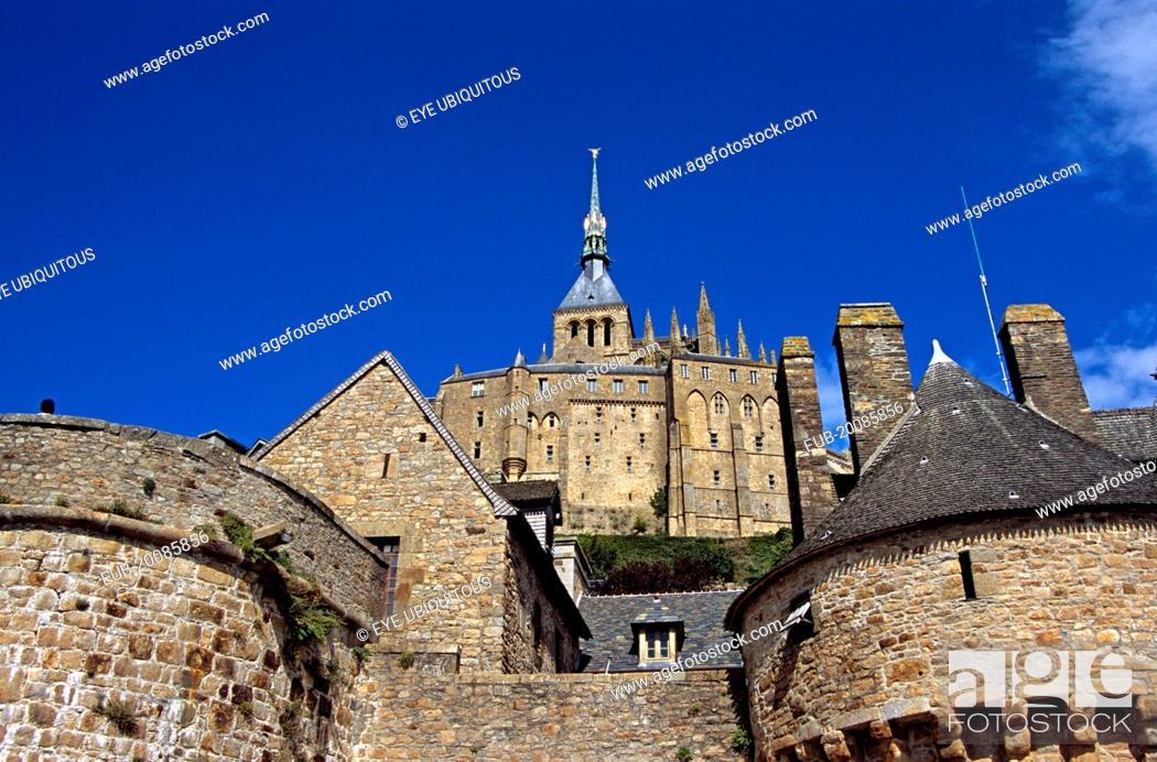 Stock Photo: Le Mont-St-Michel.