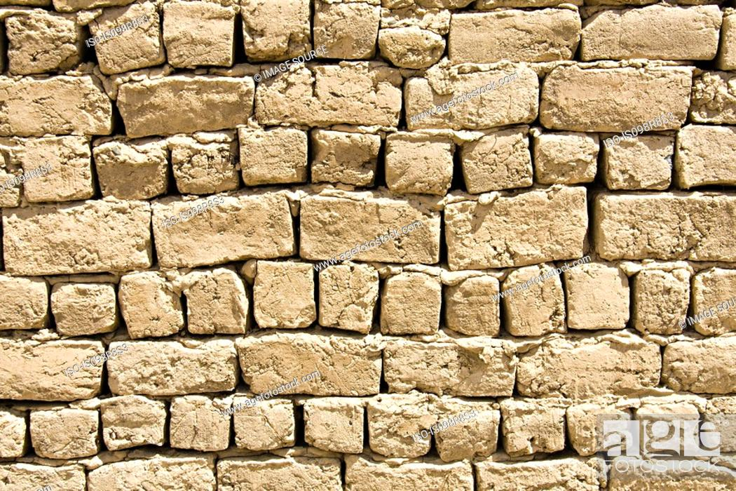 Stock Photo: Old stone wall.