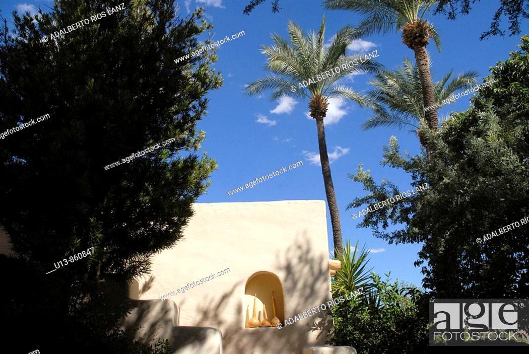 Stock Photo: Tohono Chul Park, Tucson, Arizona, United States.