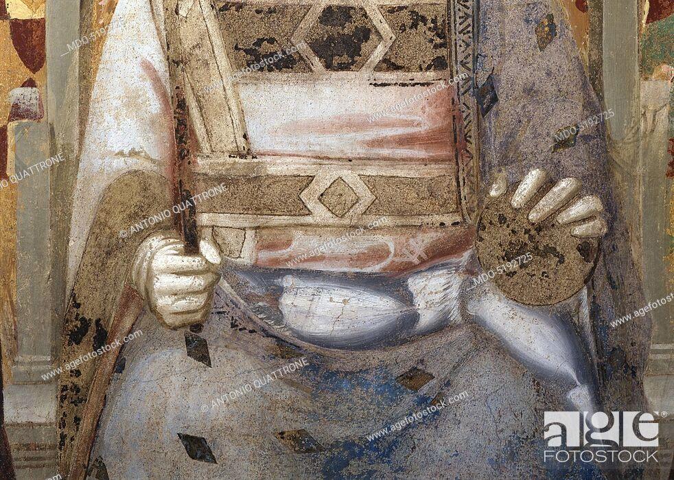 Imagen: Miracle of the Resurrection of the Bull (Miracolo della risurrezione del toro), by Maso di Banco, 1340, 14th Century, fresco.