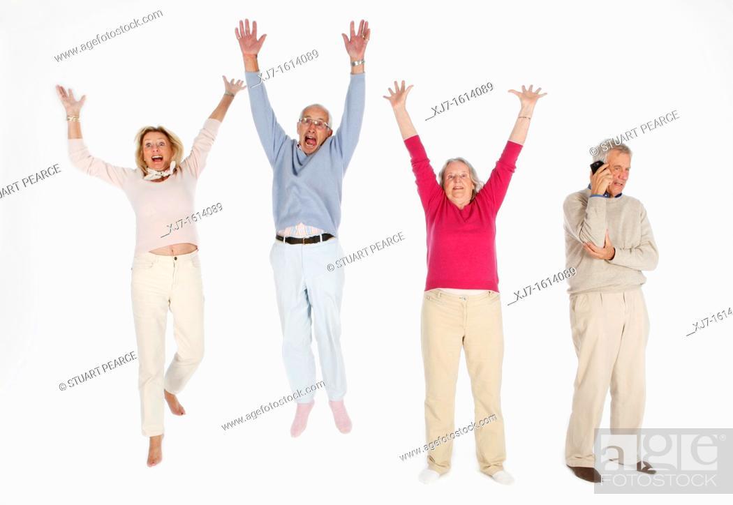 Stock Photo: Seniors.