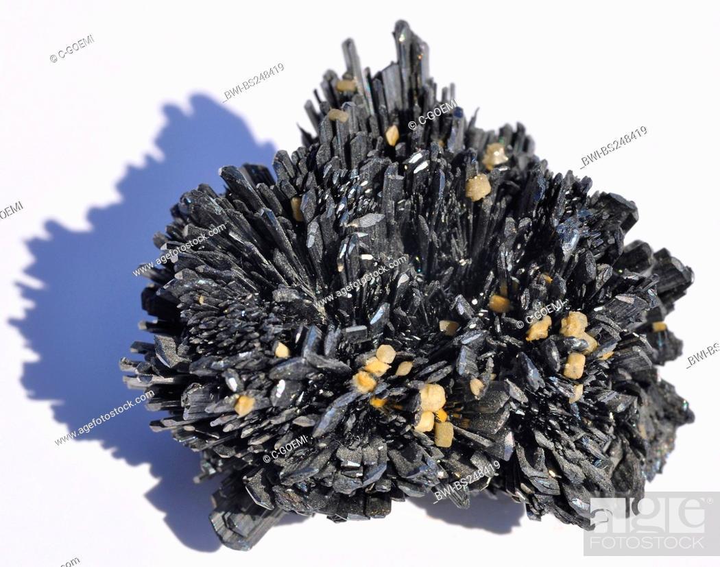 Stock Photo: antimonite.