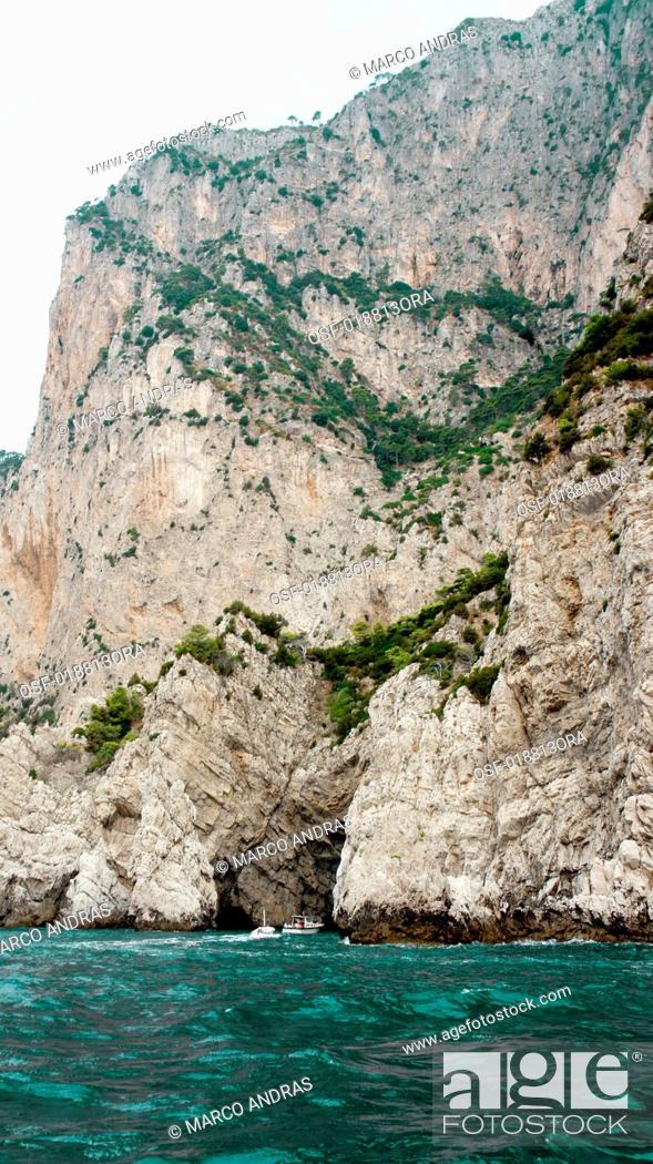 Stock Photo: Italy, Capri.