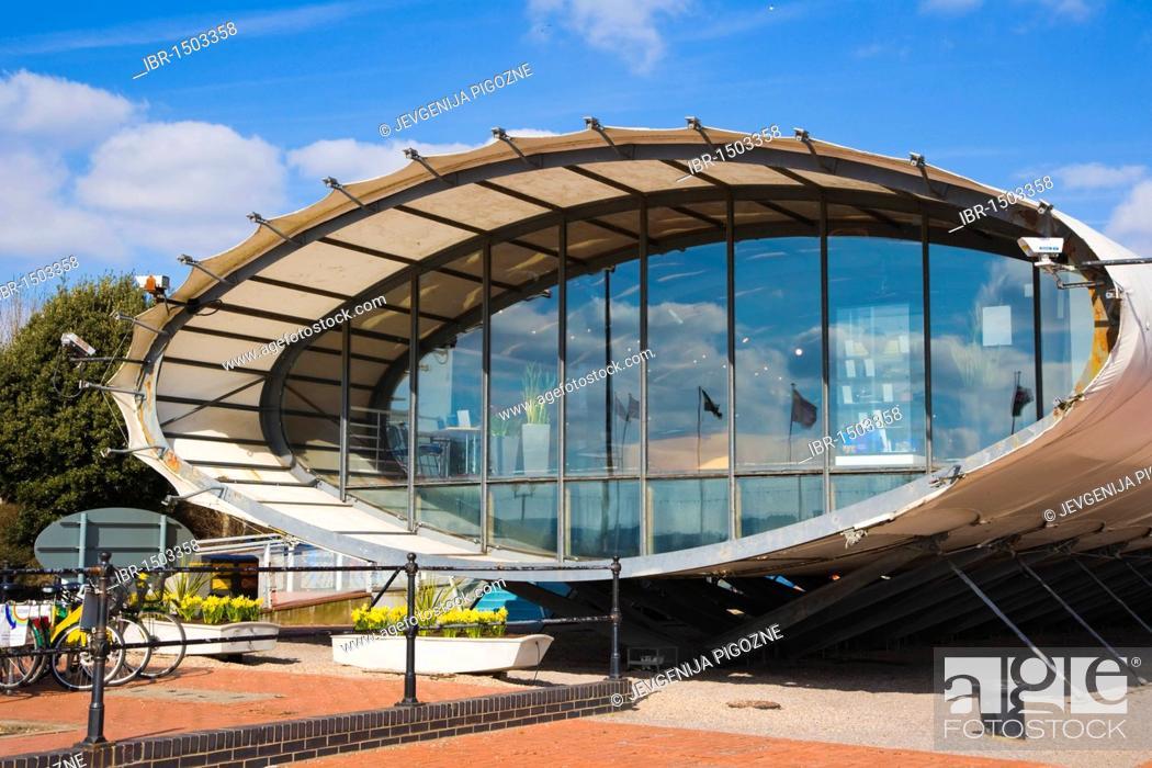 Stock Photo: Cardiff Bay Visitor Centre, The Tube, Cardiff, Caerdydd, South Glamorgan, Wales, United Kingdom, Europe.